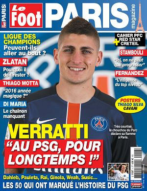 Le Foot Paris Magazine n°6 fév/mar 2016