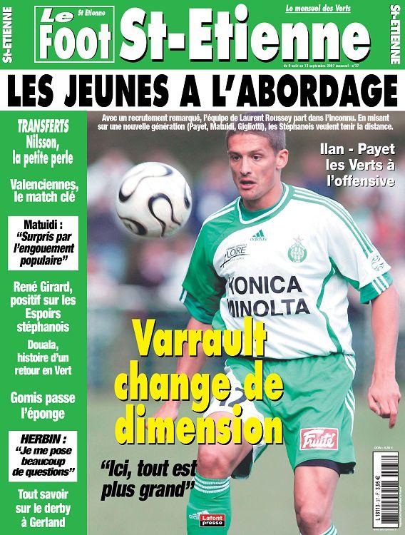 Coloriage Foot St Etienne.Le Foot St Etienne N 37 Aout 2007 Page 26 27 Le Foot St