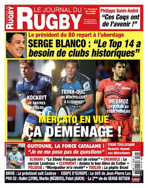 Le Journal du Rugby n°38 novembre 2013