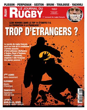 Le Journal du Rugby n°43 mars 2014