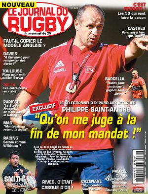 Le Journal du Rugby n°49 septembre 2014