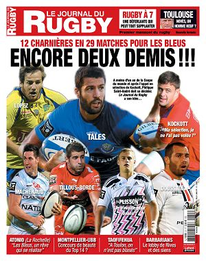 Le Journal du Rugby n°51 novembre 2014