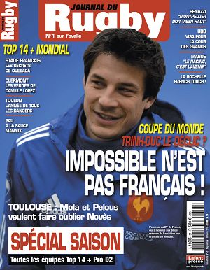 Le Journal du Rugby n°57 sep/oct 2015