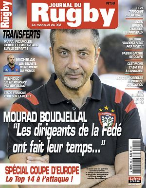 Le Journal du Rugby n°58 novembre 2015