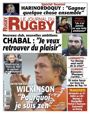 Le Journal du Rugby n°18 mars 2012