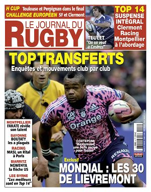 Le Journal du Rugby n°8 mai 2011