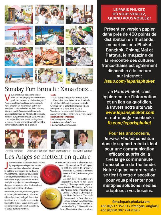 Le Paris Phuket n°46 novembre 2015 Page 14 15 Le Paris