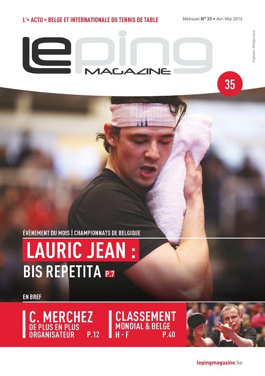 Le ping magazine n 33 janvier 2016 page 20 21 le - Friendship tennis de table ...