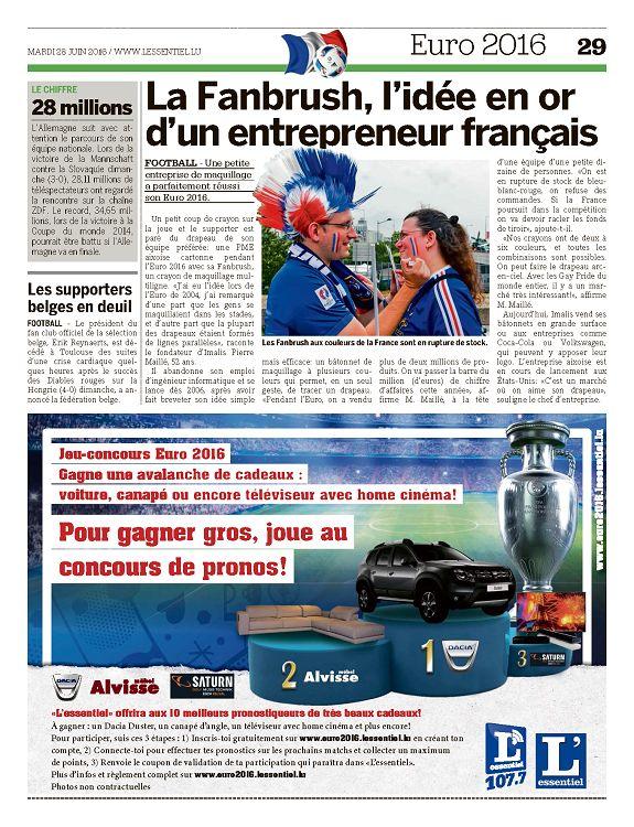 L Essentiel Luxembourg N 2015 28 Jun 2016 Page 28 29 L