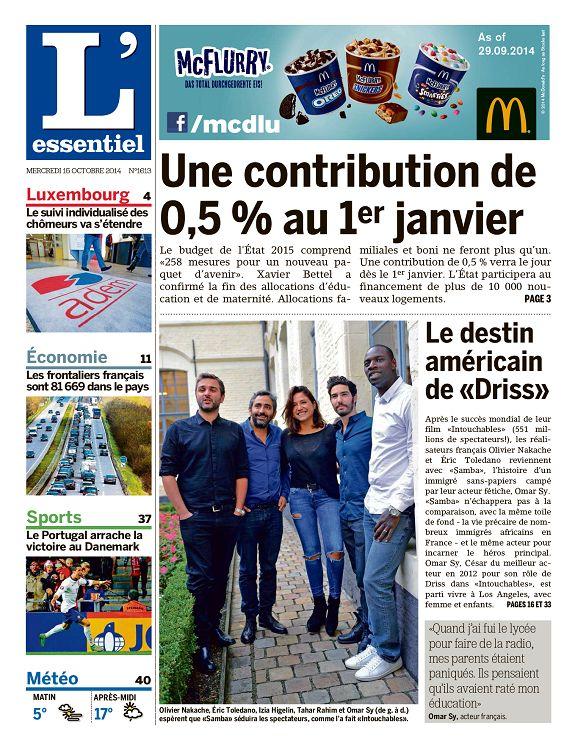 actualité du jour luxembourg