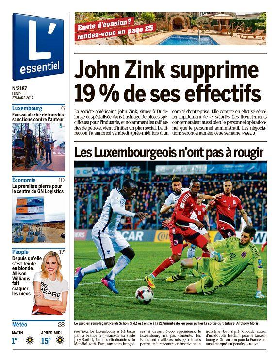John zink international luxemburg