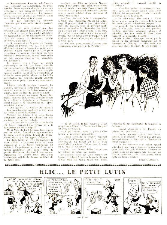 Lisette N37 28 14 Jui 1957 Page 6 7 Lisette N37 28