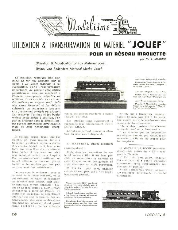 2 essieux de remplacement pour JOUEF Ø11,4 mm