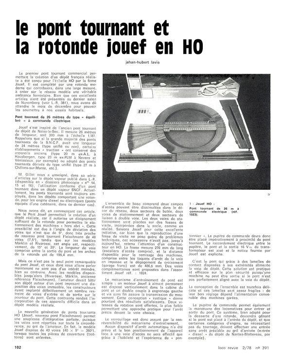 Loco Revue N 391 Fevrier 1978 Page 40 41 Loco Revue N