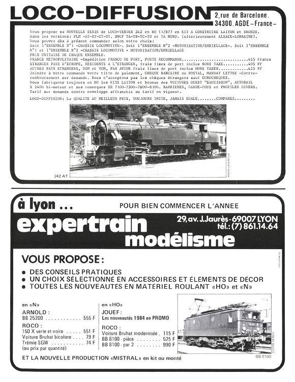 LOCO BB 8100 LIGNE DE BORT-LES-ORGUES LE TRAIN n° 152 LOCO CC 7100