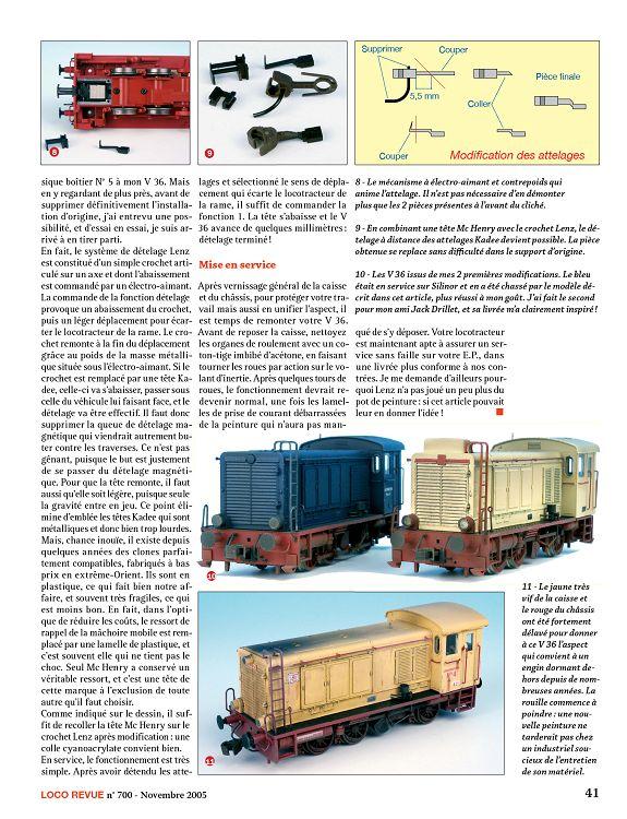 ROCO 43704 Locomotive BR 232 100-8 de la DR-Pièce de rechange-Boîte de Vitesse couverture