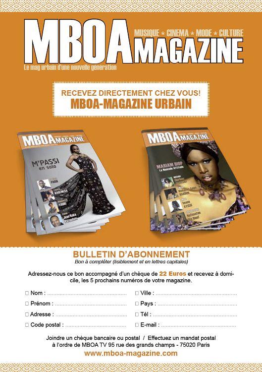 mboa magazine actualit musique arts culture. Black Bedroom Furniture Sets. Home Design Ideas