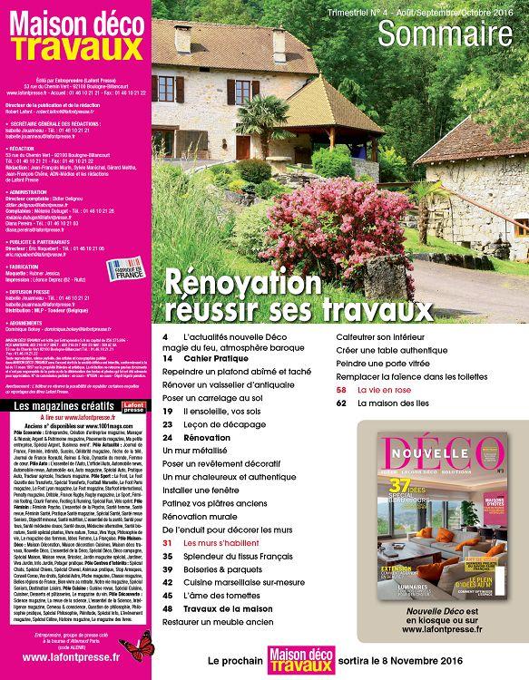 Bricolage int rieur maison 1001mags magazines en for Maison bricolage et decoration magazine