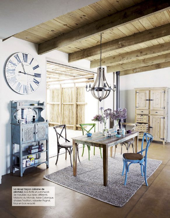 Maison decoration campagne magazine id es de d coration for Decoration maison de campagne