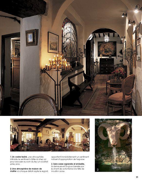 intrieur de beaut 1 une architecture de style mditerranen pour cette demeure o rgne une atmosphre de maison de matre