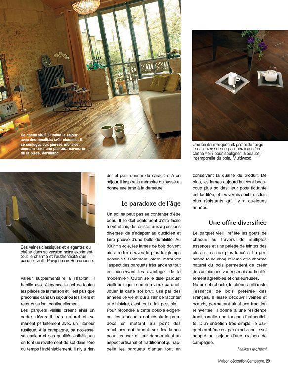 Maison Decoration Campagne N 2 Nov Dec 2011 Page 74 75 Maison