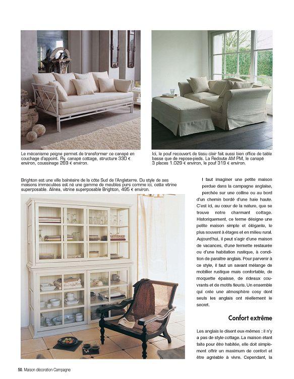 Maison Décoration Campagne n°2 nov/déc 2011 - Page 50 - 51 ...