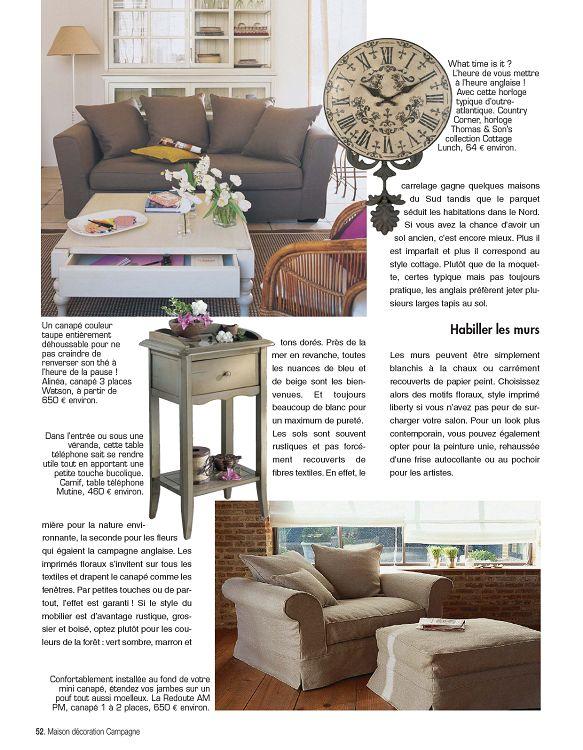 Maison Décoration Campagne n°2 nov/déc 2011 - Page 2 - 3 - Maison ...