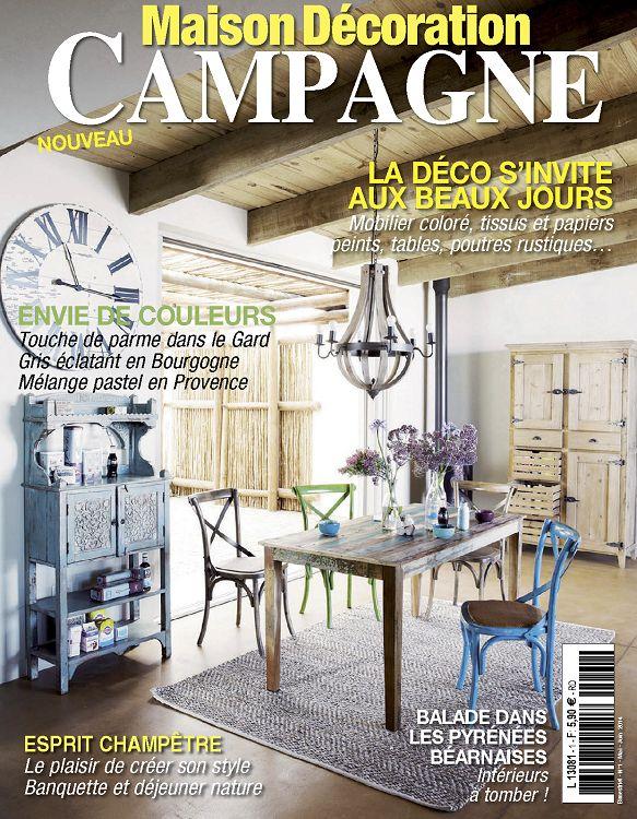 Maison Décoration Campagne N°1 Mai/Jun 2014 - Page 54 - 55