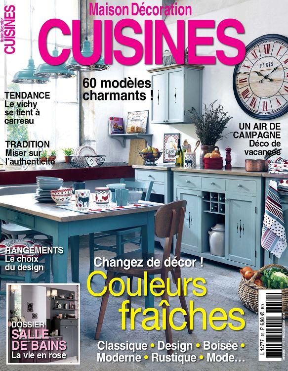 Maison Décoration Cuisines N°10 Mai/Jun/Jui 2014 - Page 30 - 31