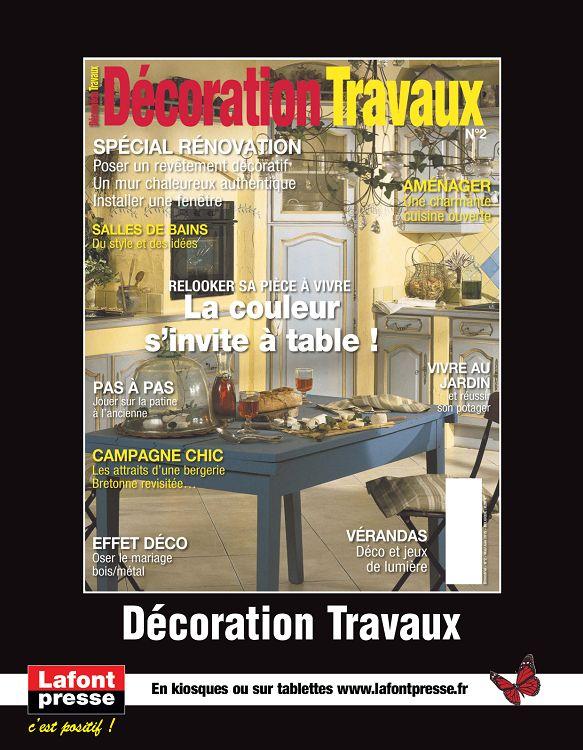 Maison d coration jardin travaux n 2 ao sep 2015 page 10 11 mais - Maison travaux decoration ...