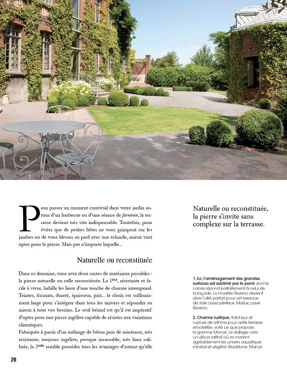 Maison Decoration Jardin Travaux N 1 Jun Jui 2015 Page 20 21
