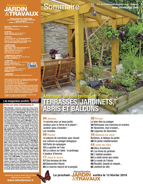 Maison et travaux magazine beautiful le journal de la for Magazine maison et jardin