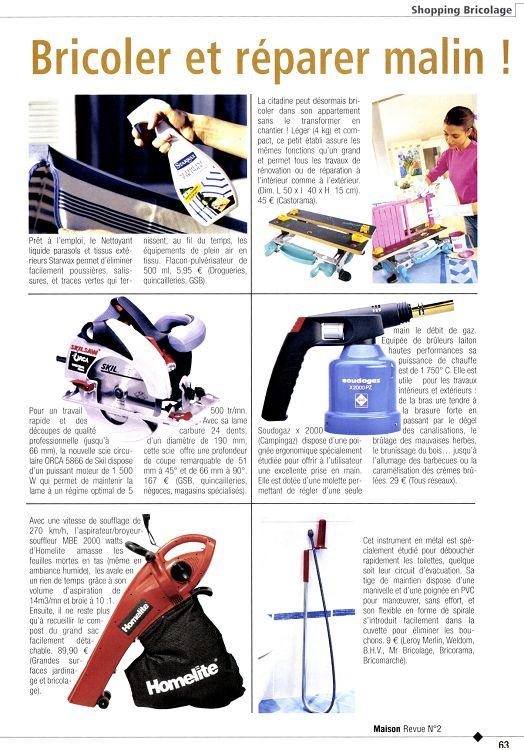 Maison Revue n°4 sep/oct 2003 - Page 62 - 63 - Maison Revue ...