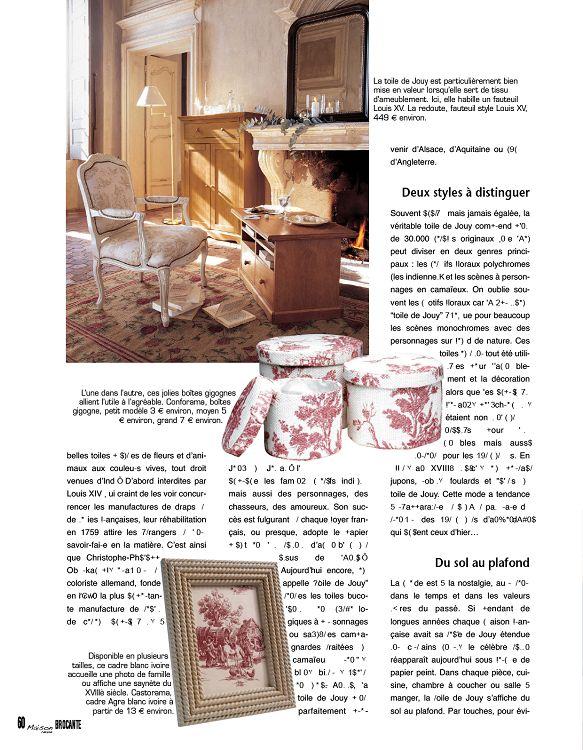 déc 50 Page 51 nov 10jan Maison Revue 2011 n°4 Brocante 7fybg6Y