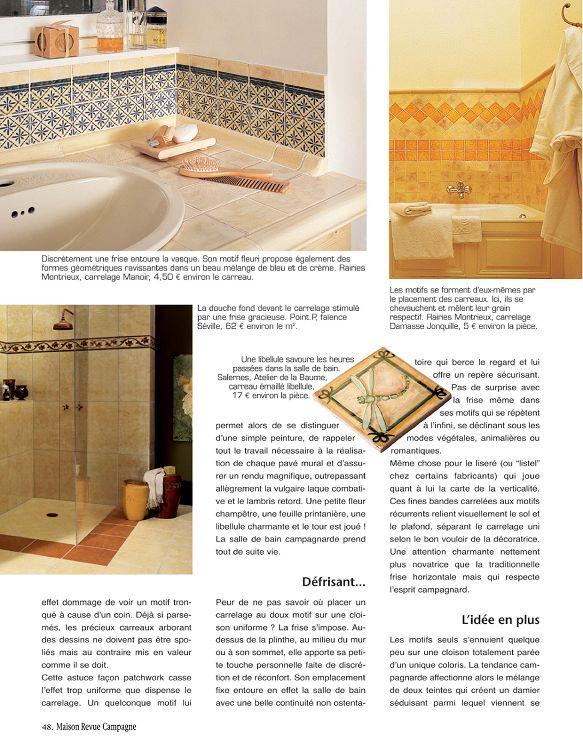 Maison Revue Campagne N 22 Mar A Jun 2010 Page 48 49 Maison