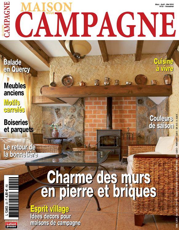 Maison de campagne magazine great maison revue campagne n for Revue decoration maison