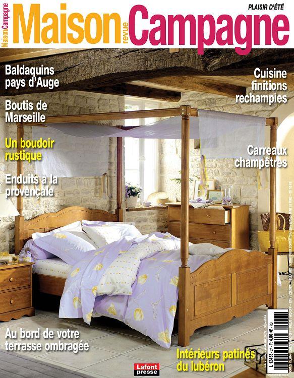 Maison revue campagne n 26 avr mai 2011 page 2 3 for Revue decoration maison