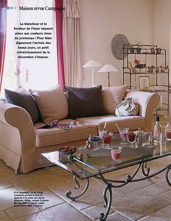 maison revue campagne d coration int rieur maison 1001mags magazines en pdf 1 et. Black Bedroom Furniture Sets. Home Design Ideas