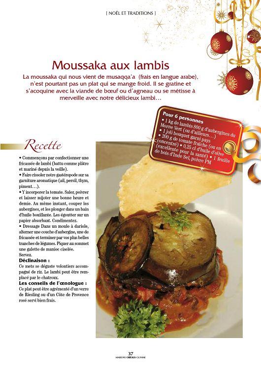 langue agneau recette