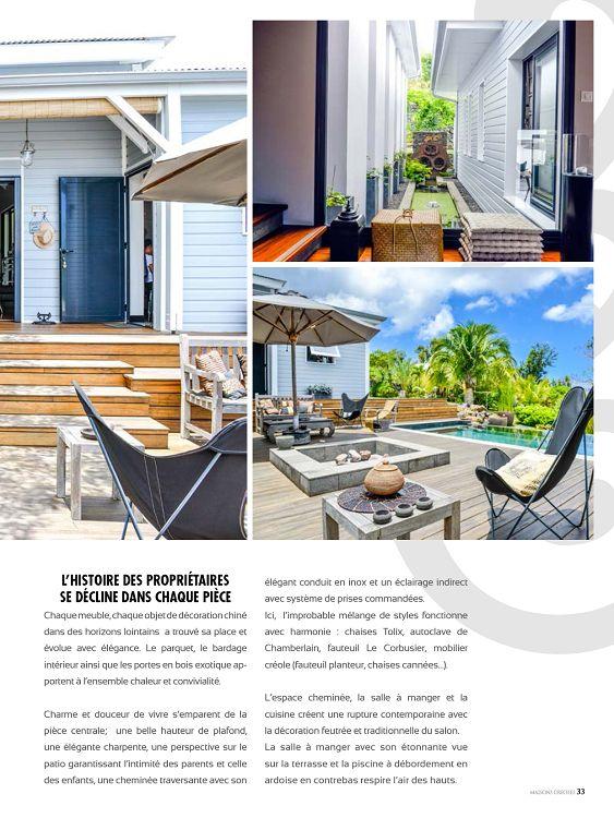 Maisons Creoles La Martinique N 97 Mar Avr 2015 Page 32 33