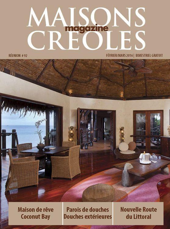 Maisons Creoles La Reunion N 92 Fev Mar 2016 Page 22 23