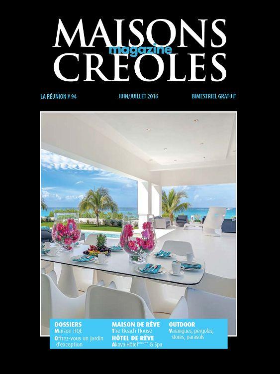 Maisons Creoles La Reunion N 94 Jun Jui 2016 Page 50 51
