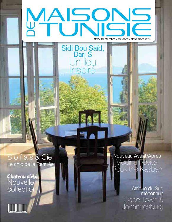 Maisons de Tunisie n°22 sep/oct/nov 2013 - Page 96 - 97 - Maisons de ...