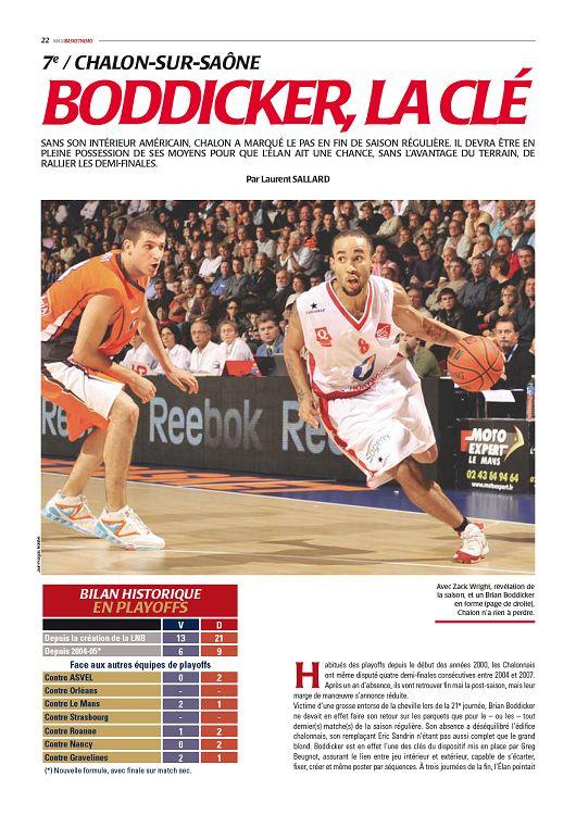 Maxi Basket n°8 mai 2009 Page 52 53 Maxi Basket n°8