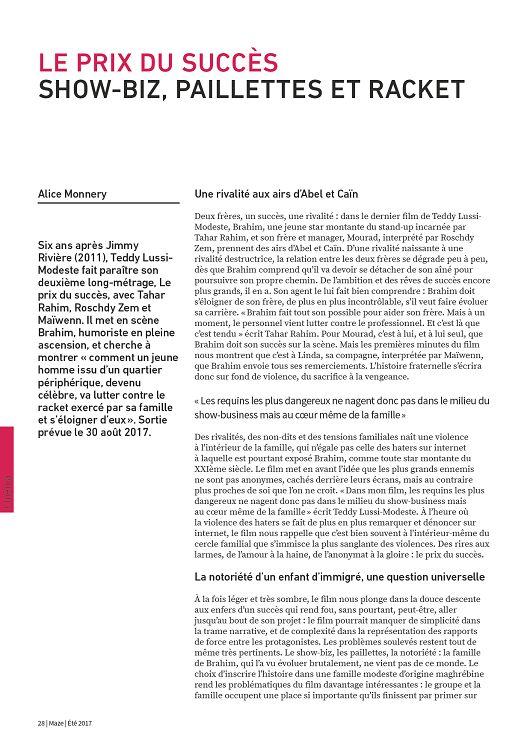 84d738b689f Maze n°64 jui aoû 2017 - Page 32 - 33 - Maze n°64 jui aoû 2017 ...