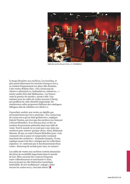 bc23719d833 Actualité LES VENTES AUX ENCHÈRES FRANÇAISES PRISÉES PAR LES VISITEURS 5000  visiteurs par jour se rendent aux célèbres ventes de Drouot Richelieu