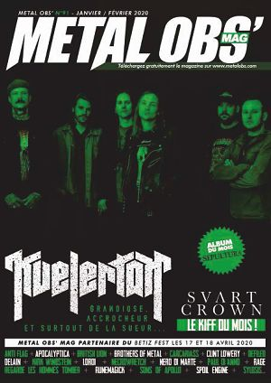 Metal Obs' Mag n°91 jan/fév 2020