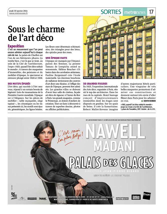 Metro News Paris n°2551 30 jan 2014 - Page 14 - 15 - Metro News ...