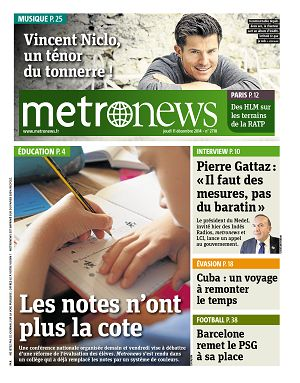 Metro News Paris n°2718 11 déc 2014