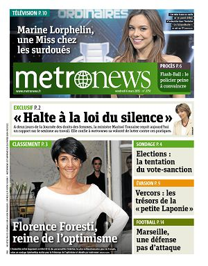 Metro News Paris n°2751 6 mar 2015